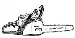 Stihl MS 180 chiansaw, 1.5kv