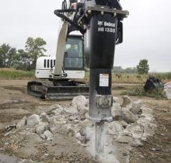 Bobcat hydrohammer
