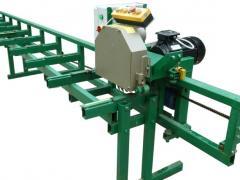 Machine prodolnopilny (prirezny) PP3-300