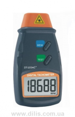 Портативный оптический тахометр DТ-2234С +