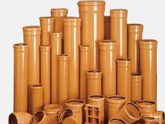 Трубы и фасонные части из пластмасс