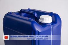 Euro canister of polyethylene 20 liters K-20,