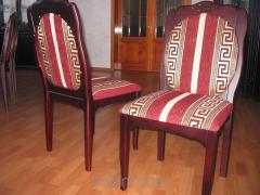 The chairs rotating
