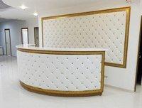 Мягкие стеновые панели из кожи или ткани для кафе