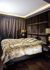 3d-стеновых панелей и пано из кожи для отделки