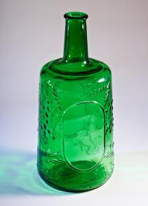 Decanters on 3 liters green