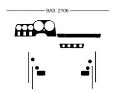 Pad on the HartMan Lada 2106 panel