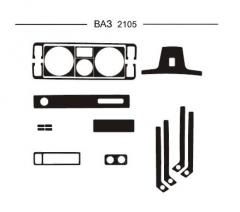 Pad on the HartMan Lada 2105 panel