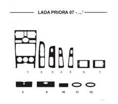 Pad on the HartMan Lada PRiora panel