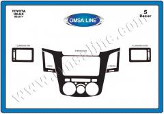 Pad on the Toyota Hilux panel