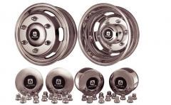 Cast disks on krafter 2 roller