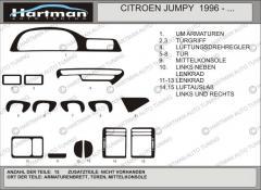 Pad on the HartMan Fiat Scudo 1996-2007 panel