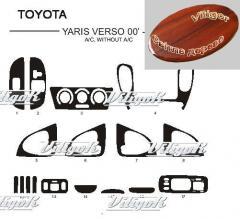 Pad on the panel under tree of Toyota Yaris Vers