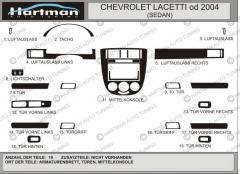Pad on the Sedan HartMan Lacetti panel