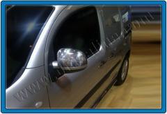 Pad on Mercedes Citan mirrors