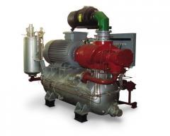 Installation compressor BB 32/8 M1 U2 for the SBSh