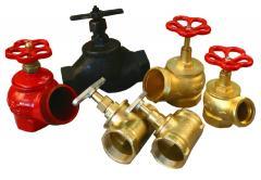 Cranes, valves, gates, temperature-controlled