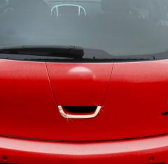 Pad of the rear door for tuning of Opel Astra J on