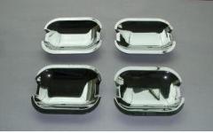 Chrome under Mercedes Eklass W210 Carmos handles