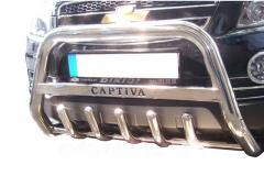 Front arch of Chevrolet Captiva