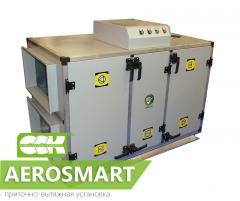 Приточно-вытяжная установка AeroSmart. Установки