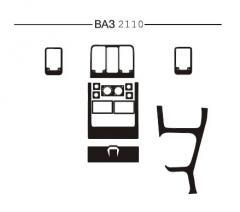 Pad on the HartMan Lada 2110 panel variant1