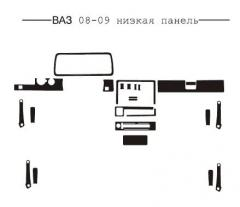 Pad on the panel the low Lada 2108-09 panel