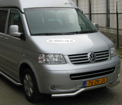 Protective arch wave for facelift T5 Volkswagen