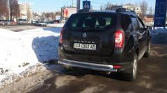 Back arch of Dacia Duster
