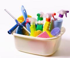 Продукция бытовой химии, чистящие, моющие средства