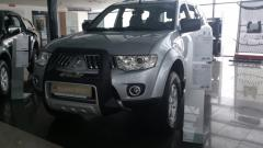 Front protection piece arch. Mitsubishi L