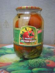 Mixed vegetables of Bukovinskoye No. 1. 1 l