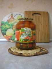 Mixed vegetables of Bukovinskoye No. 1. 1,5l