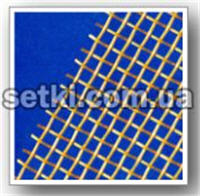 Grid brass with square cells (GOST 6613-86, TU U