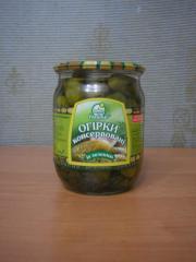 Cucumbers pickled 0,5 AP to Najdis