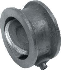 Locks are the return rotary flangeless
