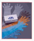 Боты из прозрачного пластика, одноразовые перчатки
