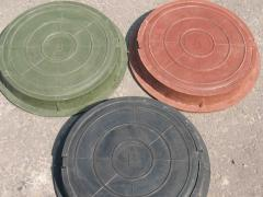 Manholes from composite material