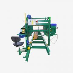 The device bandsaw PLP-11 for longitudinal sawing
