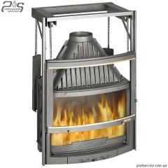 Коминкове топлення LAUDEL 800 PANORAMA з