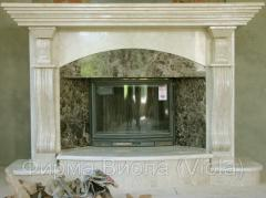 Fireplaces, wall fireplace from pig-iron fenny