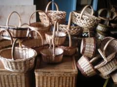 Baskets are easter