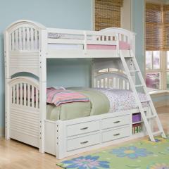Кровать двухъярусная камелия