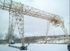 We sell the Crane of goat KKS-10, loading capacity