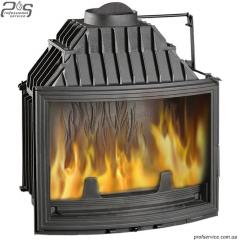 Chimney fire chamber of UNIFLAM 700 PANORAMA with