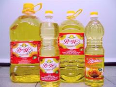 The purified oil deodorized frozen and not frozen