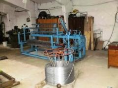 The automatic machine for production of a grid of