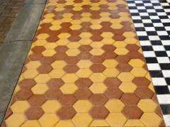 Плитка для дорожек, тротуаров, бордюр