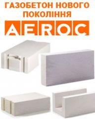 Блок газосиликатный,  керамический стеновой