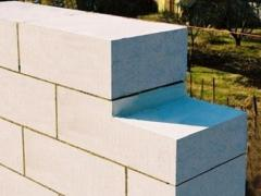 Gas concrete wall